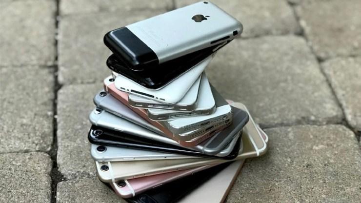 12 χρόνια iPhone: Μια ματιά στα τηλέφωνα της Apple