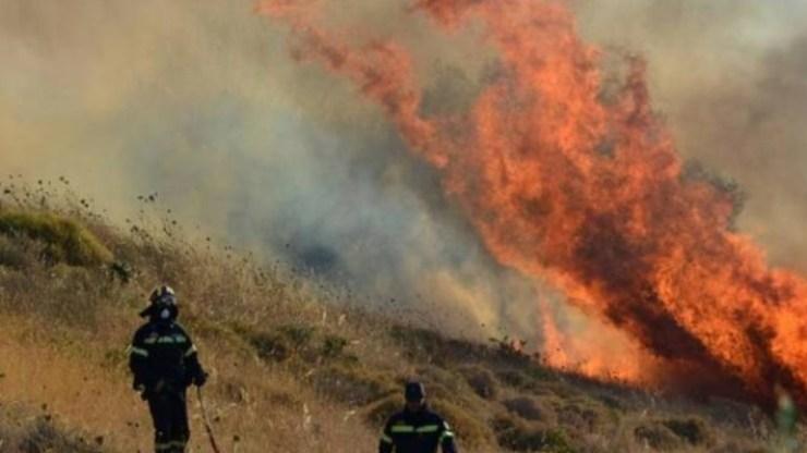 Κίνδυνος πυρκαγιάς: Αττική, Εύβοια, Κρήτη, Πελοπόννησος και Αιγαίο