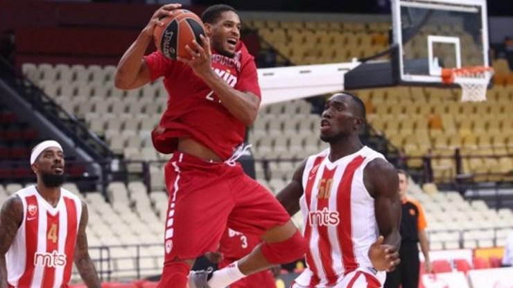 Φιλική ήττα για τον Ολυμπιακό με 82-77 από τον Ερυθρό Αστέρα