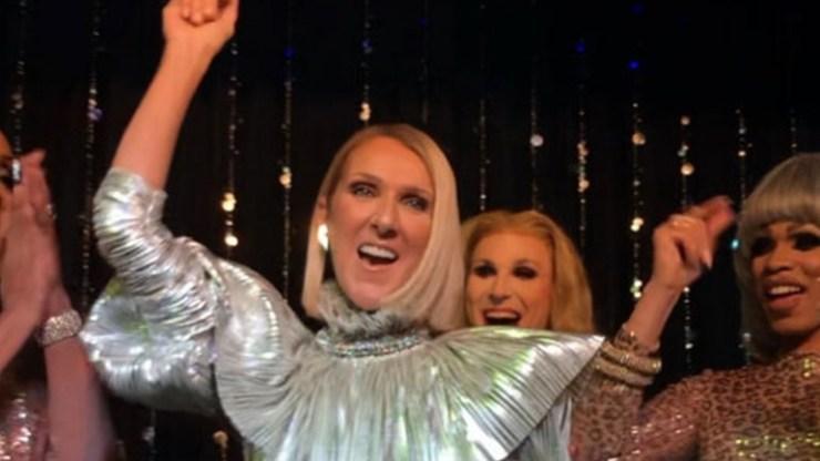 Celine Dion: Εμφανίστηκε σε drag queen show με αφορμή την κυκλοφορία του νέου άλμπουμ της «Courage»