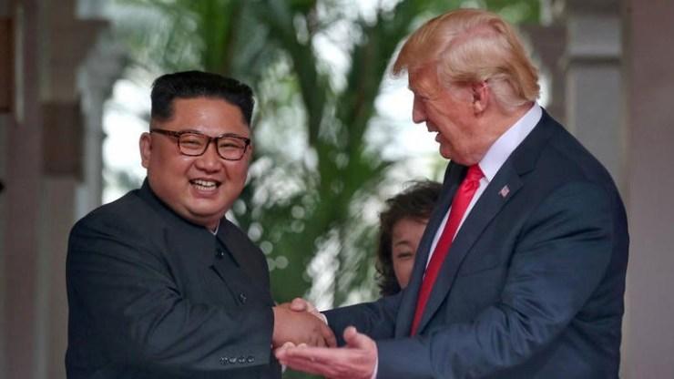 Ο πρόεδρος των ΗΠΑ αποκαλεί τον ηγέτη της Βόρειας Κορέας... Rocket Man