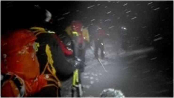 Οι διασώστες βρήκαν τους έξι που χάθηκαν στα χιονισμένα ορεινά Σφακιά
