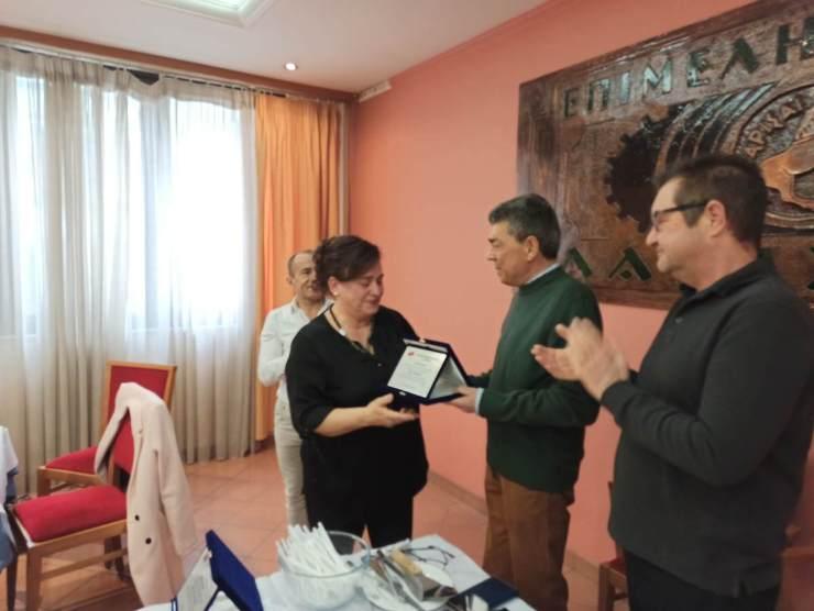 Κοπή πίτας του Συλλόγου Νεφροπαθών Λάρισας (φωτο)