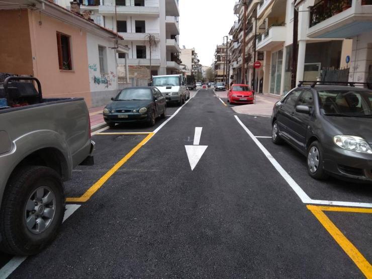 Ολοκληρώθηκε η νέα οδός Χρυσοχόου – Δείτε φωτογραφίες