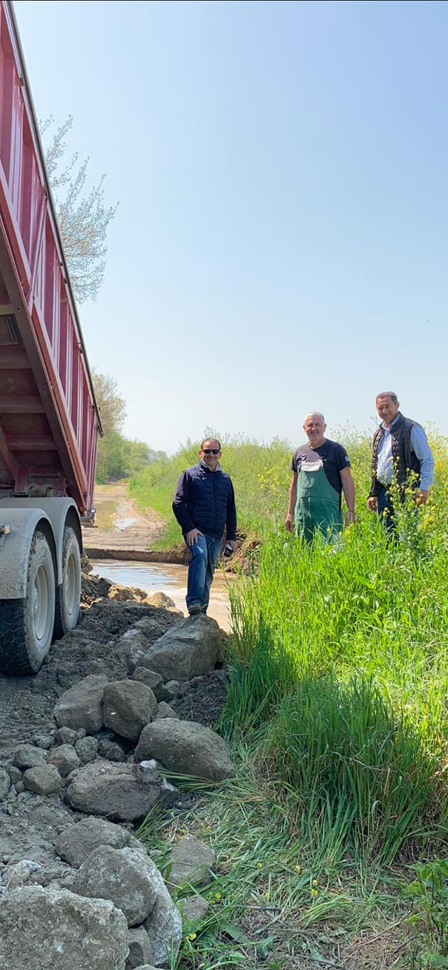 Συνεχίζονται οι αποκαταστάσεις ζημιών και ο καθαρισμός ρεμάτων σε περιοχές του δήμου Τεμπών
