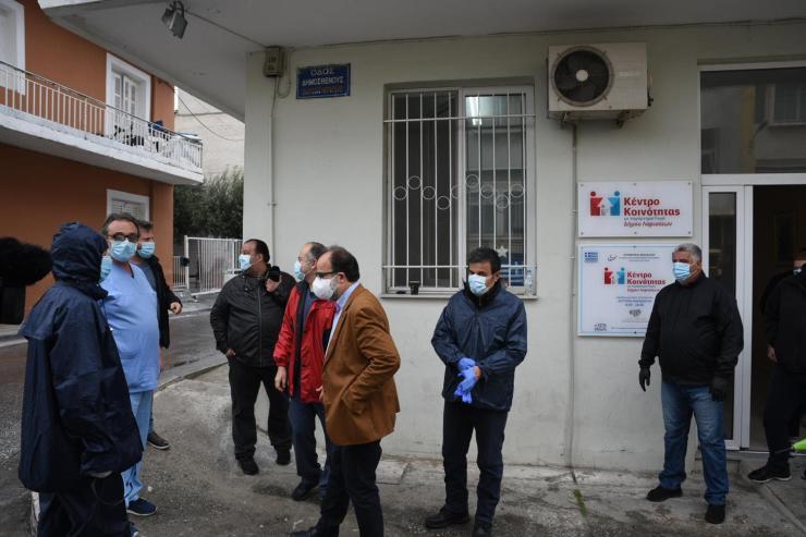 Πόρτα- πόρτα οι 115 δειγματοληπτικοί έλεγχοι σήμερα στη συνοικία της Νέας Σμύρνης – 20 στην Αρωγή (φωτο)