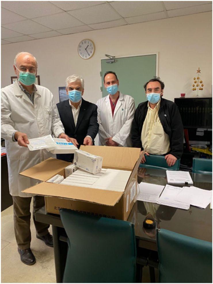 Σημαντική δωρεά για τη θωράκιση των εργαζομένων του Πανεπιστημιακού Νοσοκομείου Λάρισας από Πανεπιστήμιο της Κίνας