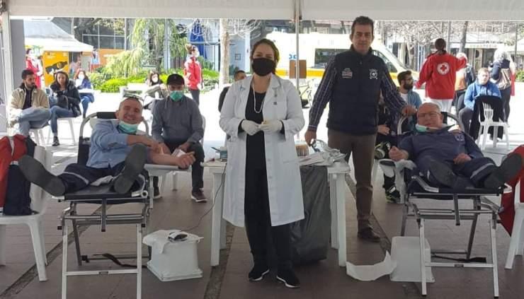 Επιτυχημένη αιμοδοσία του Σωματείο εργαζομένων στο ΕΚΑΒ Θεσσαλίας στη Λάρισα