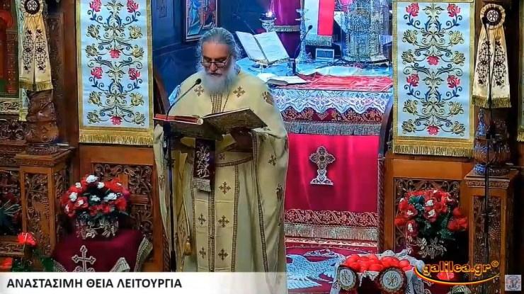 Κι άλλη πανέξυπνη κίνηση από τον δραστήριο ιερέα του Αγίου Γεωργίου στη Λάρισα (φωτο)