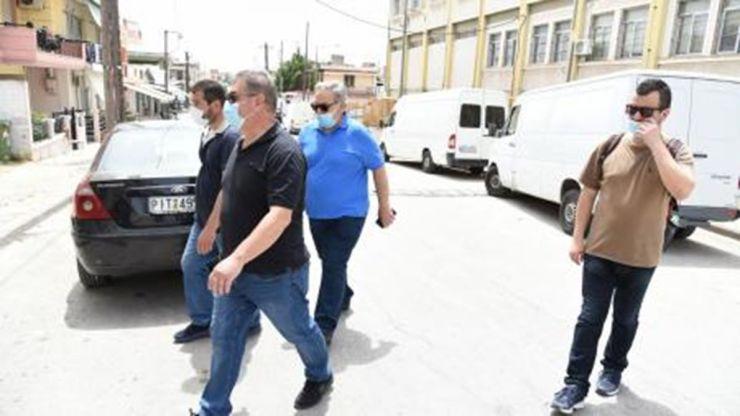 Κλιμάκιο του ΚΚΕ περιόδευσε το περασμένο Σάββατο στη Νέα Σμύρνη Λάρισας