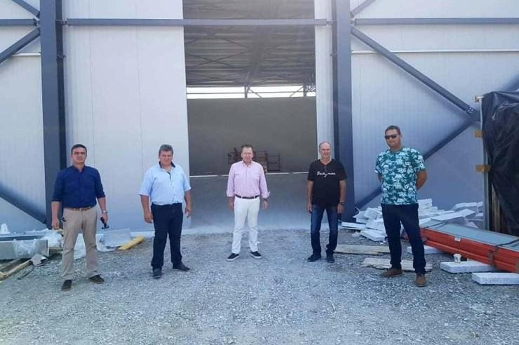 Στον Αγροτικό Συνεταιρισμό Πυργετού ο Κόκκαλης: «Υπόδειγμα εξωστρέφειας και ποιότητας το ακτινίδιο Κάτω Ολύμπου»