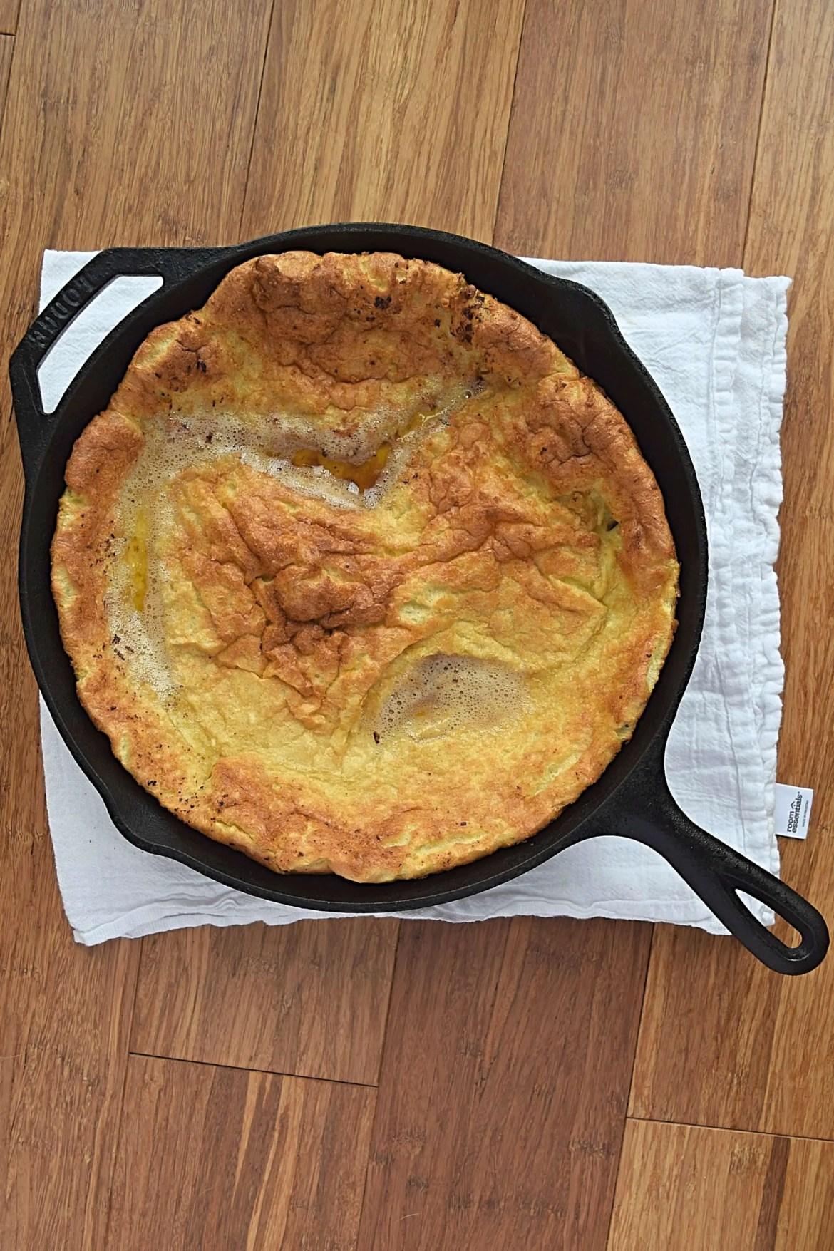 Dutch baby aka German Pancake - A Stray Kitchen