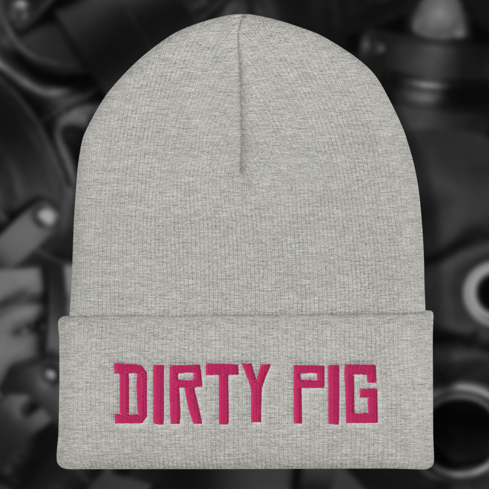 "Featured image for ""Dirty Pig - Cuffed Beanie"""