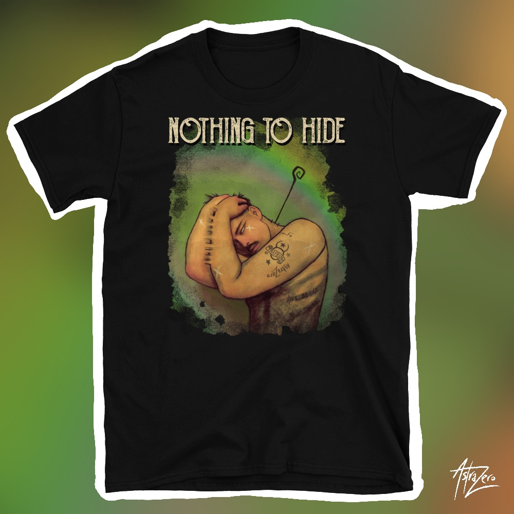 "Featured image for ""Nothing to Hide - Short-Sleeve Unisex T-Shirt"""