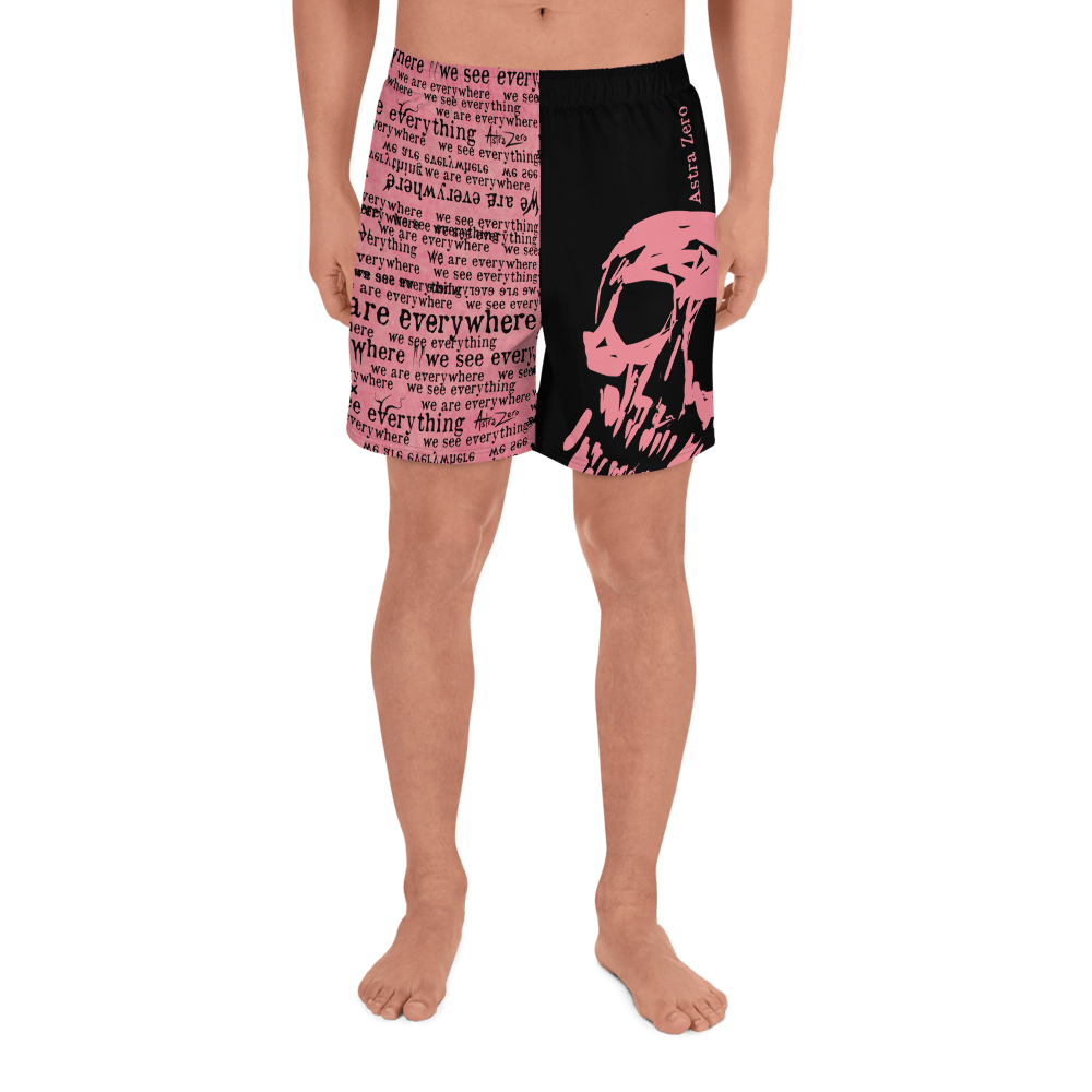 "Featured image for ""We See Everything We Are Everywhere - Men's Athletic Long Shorts"""