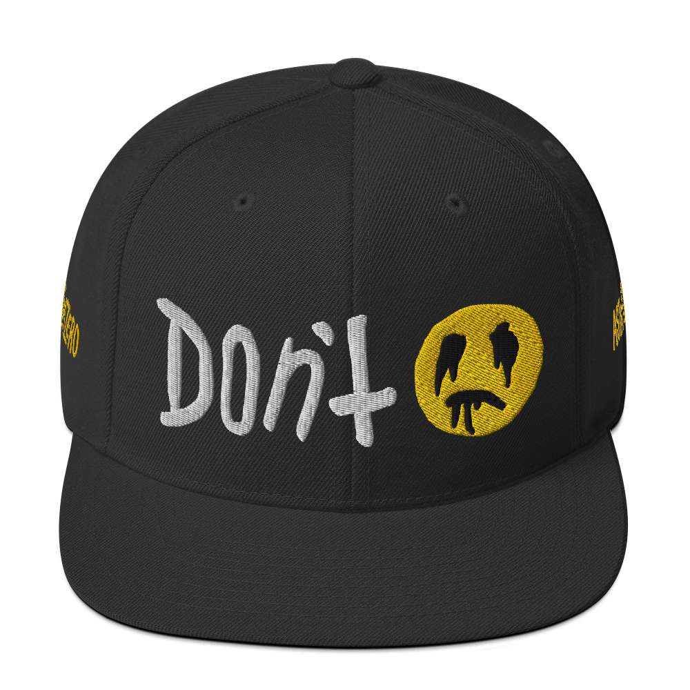 "Featured image for ""Don't - Snapback Hat"""