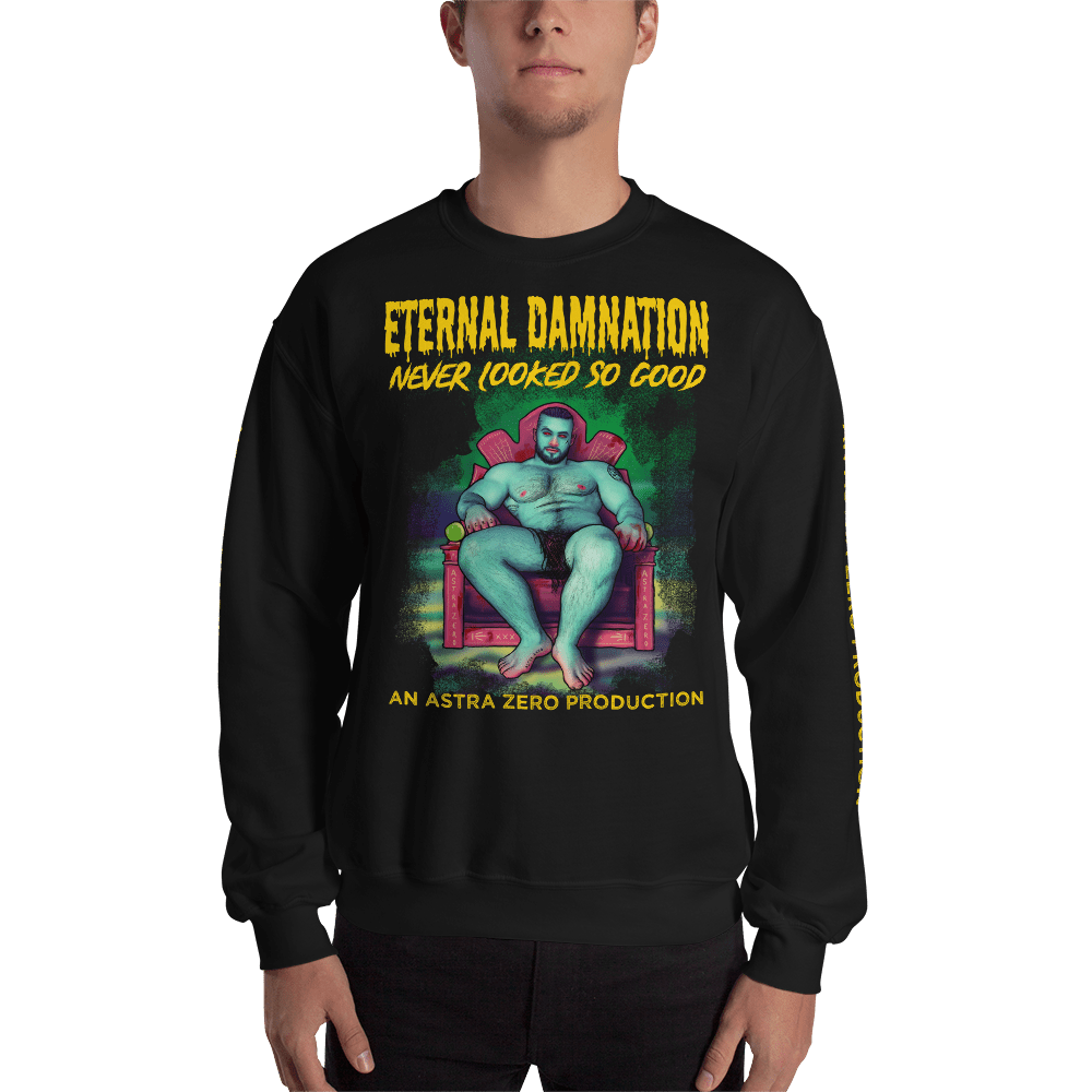 "Featured image for ""Eternal Damnation - Unisex Sweatshirt"""