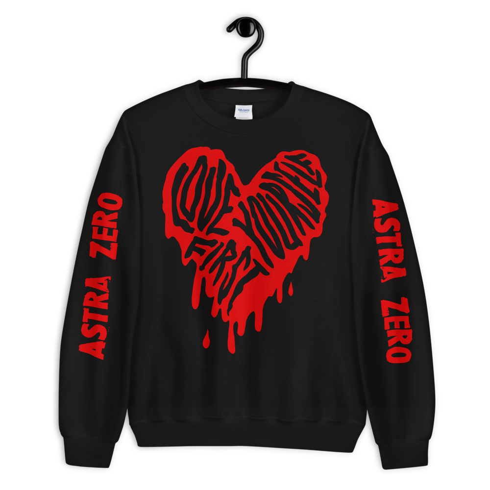 "Featured image for ""Love Yourself First - Unisex Sweatshirt"""