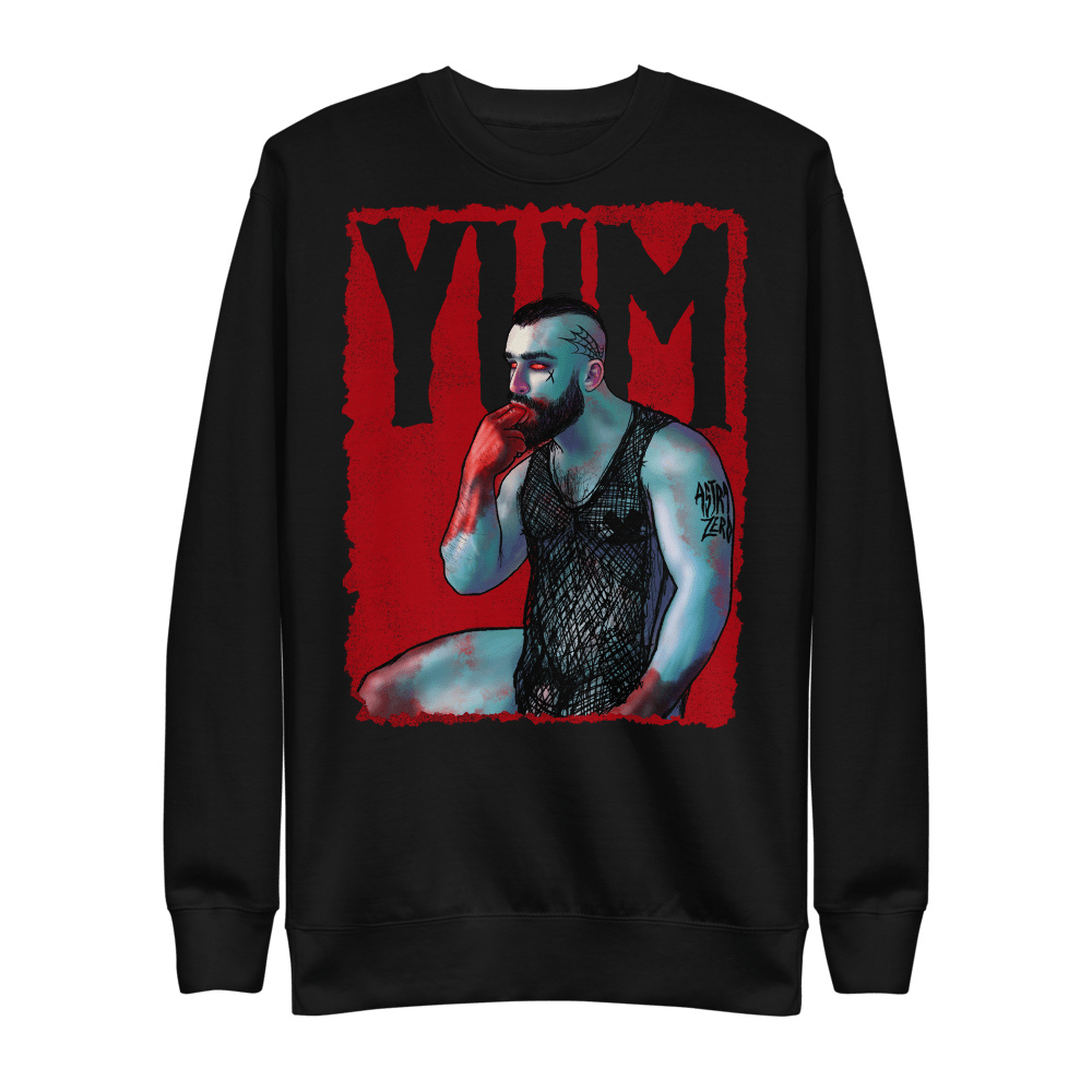 """Featured image for """"YUM - Unisex Fleece Pullover"""""""
