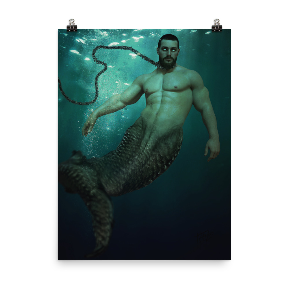 "Featured image for ""Chained Merman - Poster"""