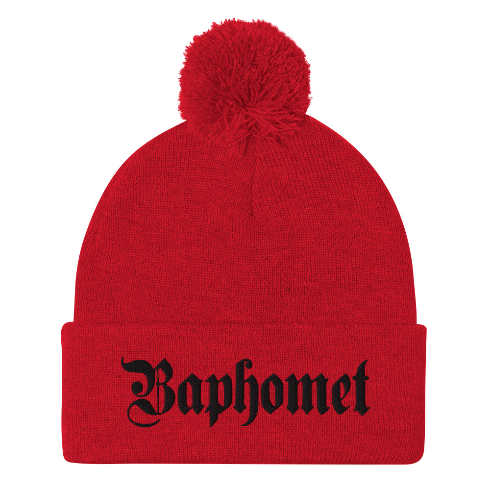 "Featured image for ""Baphomet - Pom-Pom Beanie"""