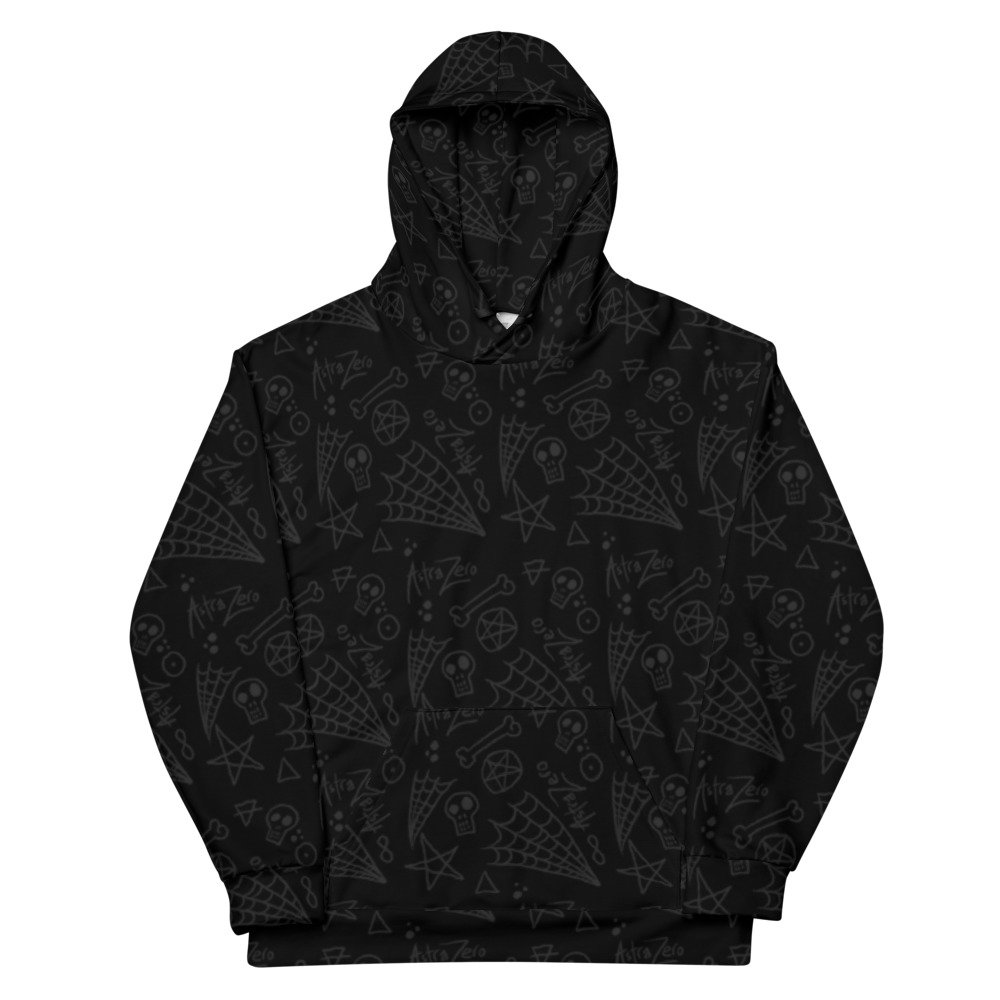 "Featured image for ""Astra Zero Black Web - Unisex Hoodie"""