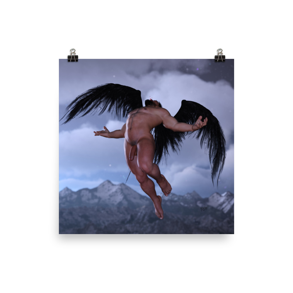 "Featured image for ""Broken Angel - Poster print"""