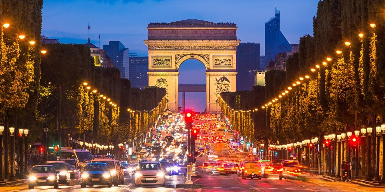 Frankreich-Transporte