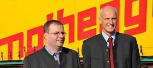 Karl Nothegger Junior und Karl Nothegger Senior