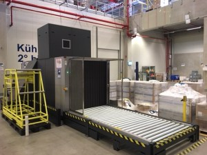 Greshaber Group Frachtkontrollen mittels Röntgengerät am Standort Rheinfelde