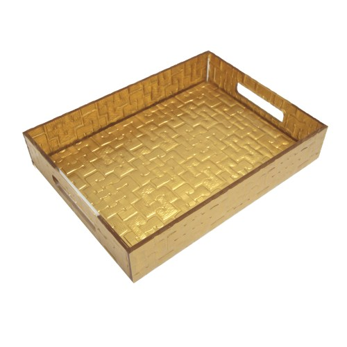 Desktop Gold Acrylic File Organizer
