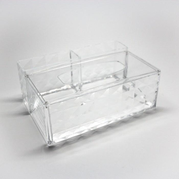 Acrylic Tissue Paper Organizer