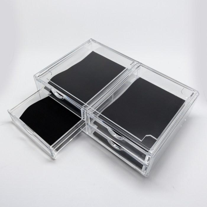 Transparent Acrylic Four Drawers Organizer