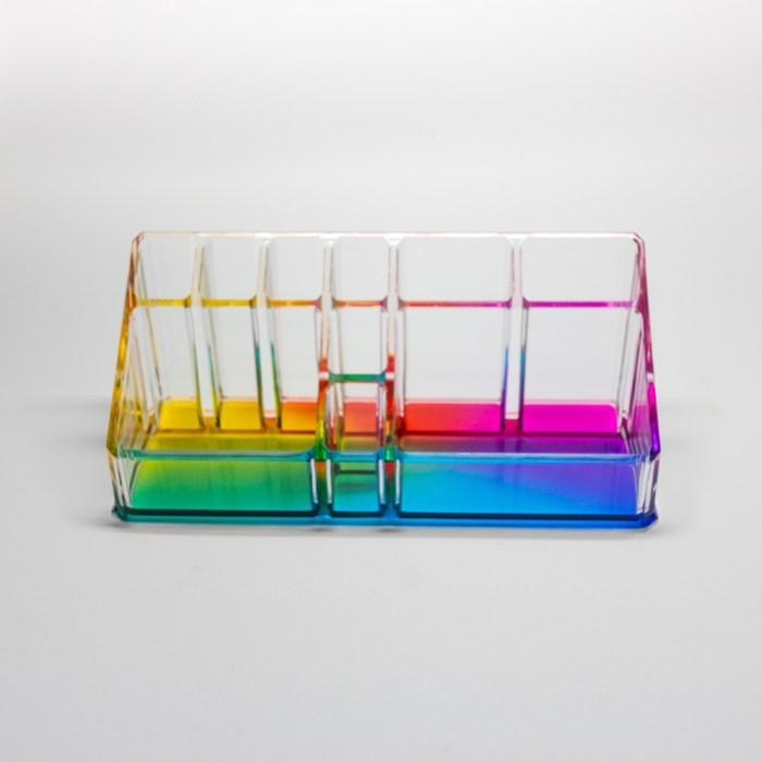 Countertop Office Sundries Stand Organizer Deep Rainbow