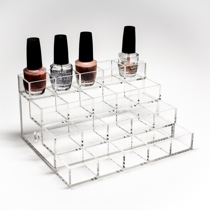 Acrylic Nail Polish Display & Organizer Stand