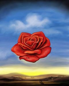 Salvador Dali The Meditative Rose