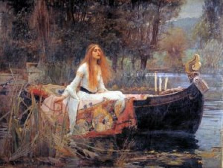 The Lady of Shalott av John William Waterhouse