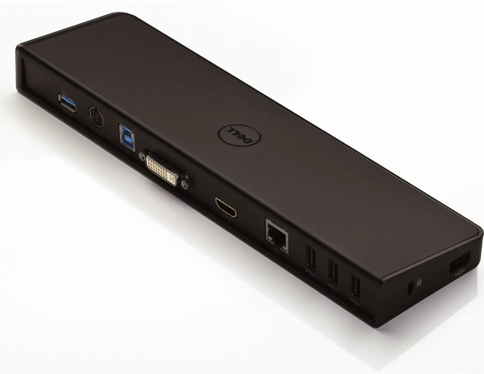 DELL D3000 SuperSpeed Docking Station USB 3 0