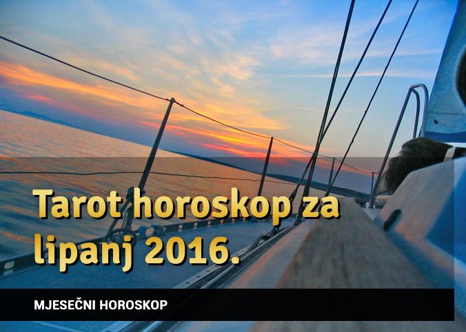 Tarot horoskop za lipanj 2016.
