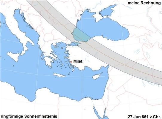 Bildergebnis für Sonnenfinsternis bei Thales von Milet