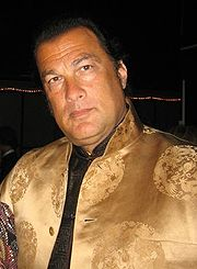 Portrait of Steven Seagal