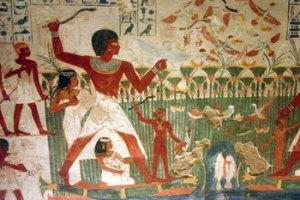 Pesca en el río Nilo