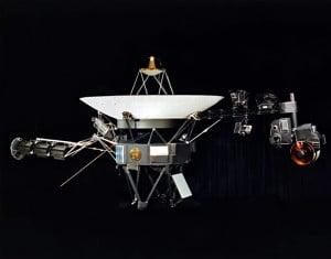 La sonda Voyager 1. Crédito: NASA