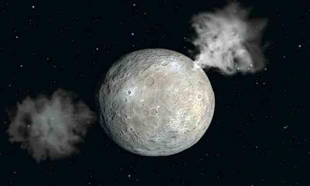 La inclinación del eje de Ceres y el hielo en su superficie