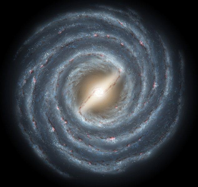 Las colisiones moldearon la Vía Láctea