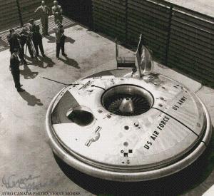 No todos los discos voladores son ficticios. El avrocar fue una nave canadiense que voló por primera vez en 1959.