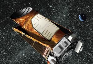 Recreación artística del telescopio Kepler. Crédito: NASA/JPL-Caltech/Wendy Stenzel