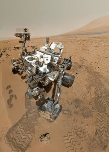 Imagen del rover Curiosity. Crédito: NASA/JPL-Caltech/Malin Space Science Systems