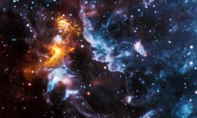 ¿Han captado a un agujero negro devorando una estrella de neutrones?
