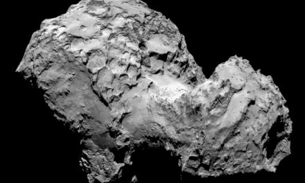 Moléculas organicas en el cometa Churyumov